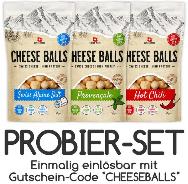 CHHESE BALLS_3er Set